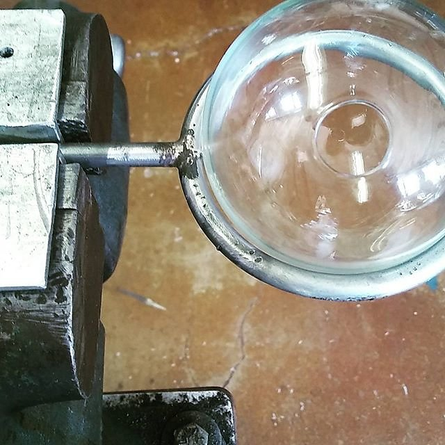 I love steel work. #djinnlight #kickstarter #maker